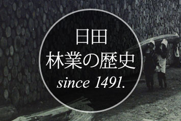 日田、林業の歴史