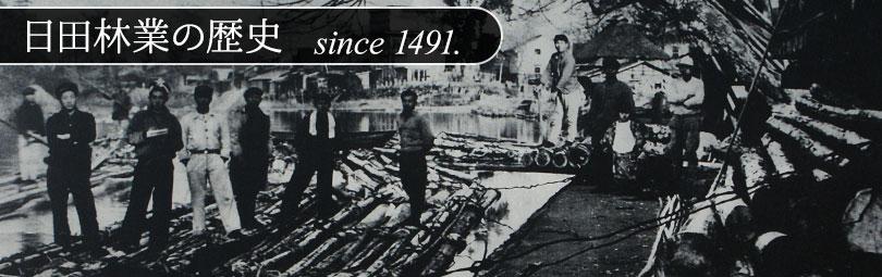 日田 林業の歴史