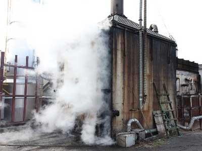 燻煙乾燥木材